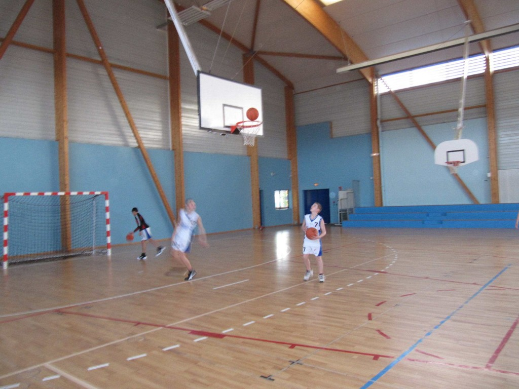 Salle de sports collectifs du complexe sportif intercommunal