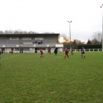 Terrain football, stade Jean Villeneuve.