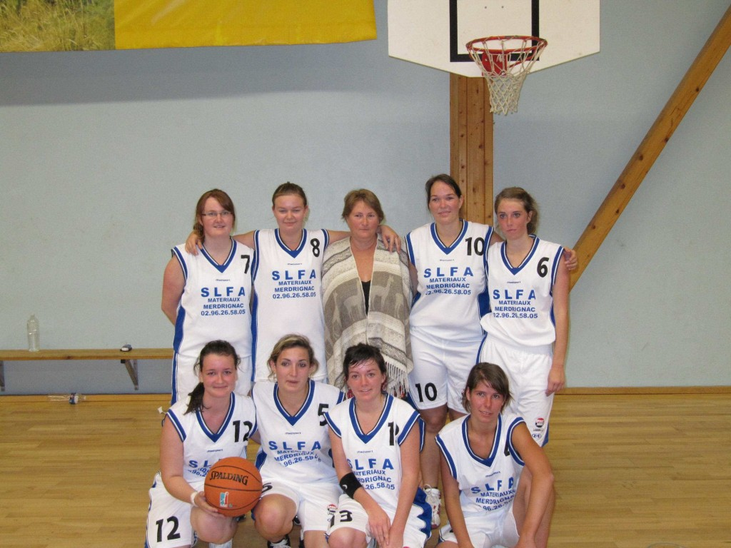 Samedi 18 septembre 2010Club de basket féminineMerdrignac