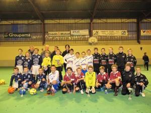Les finalistes du tournoi U12-U13